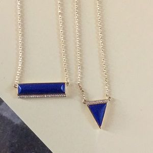 Gorgeous royal blue Stella and Dot necklace